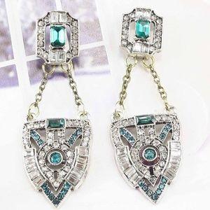 Beautiful Art Deco Dangle Earrings